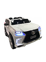 Детский электромобиль Lexus LX 570 white, фото 1