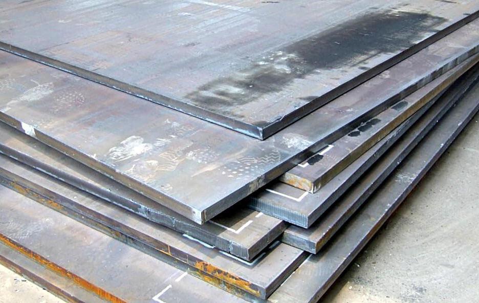 Лист стальной горячекатаный С345