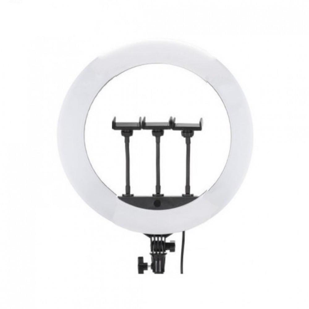 Светодиодная кольцевая лампа Jmary FM-14R (36 см, длина штатива: 2.1 м)