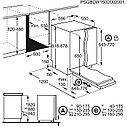 Встраиваемая Посудомоечная машина Electrolux Intuit 300 60 см Авто-открывание AirDry, фото 4