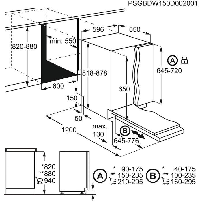 Встраиваемая Посудомоечная машина Electrolux Intuit 300 60 см Авто-открывание AirDry - фото 4