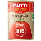 Томаты очищенные целые в томатном соке Mutti BIO, 400 гр