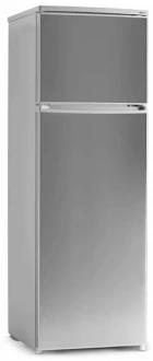 Холодильник двухкамерный с верхней морозильной камерой SHIVAKI HD 316 FN steel