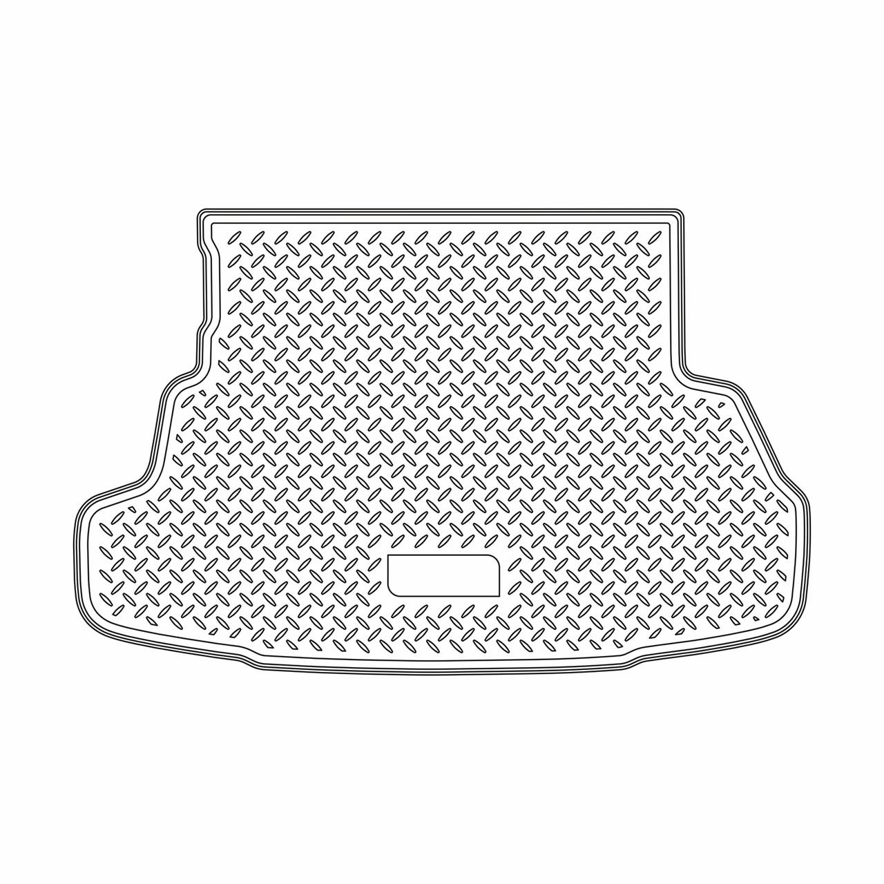 Коврик в багажник Haima 3 HB (2010)