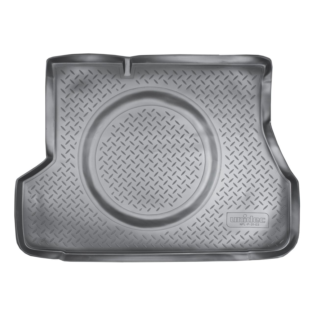 Коврик в багажник Hyundai Accent (2000-2010)