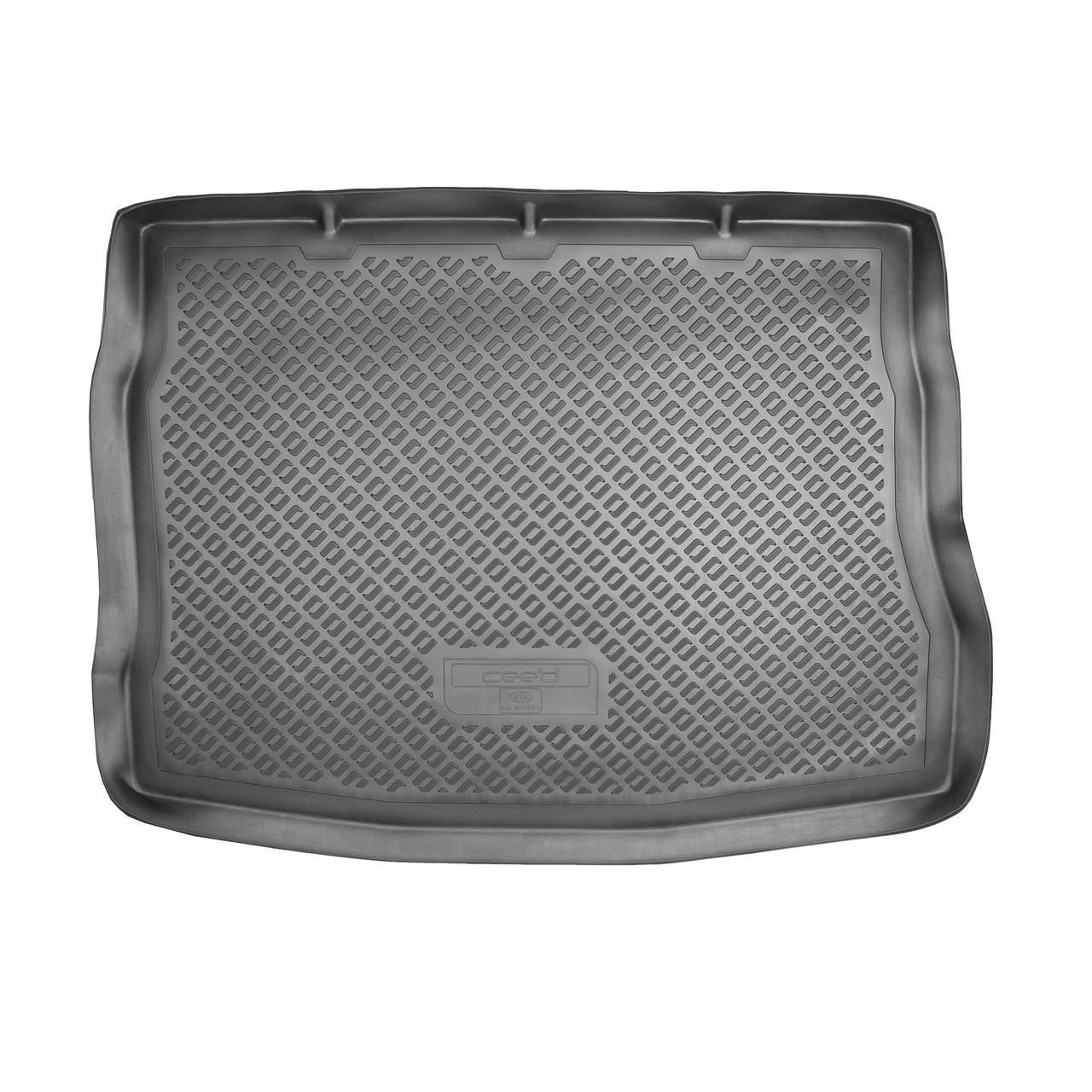 Коврик в багажник Kia Cee'd (ED)\ Pro Cee'd HB (2006-2012)