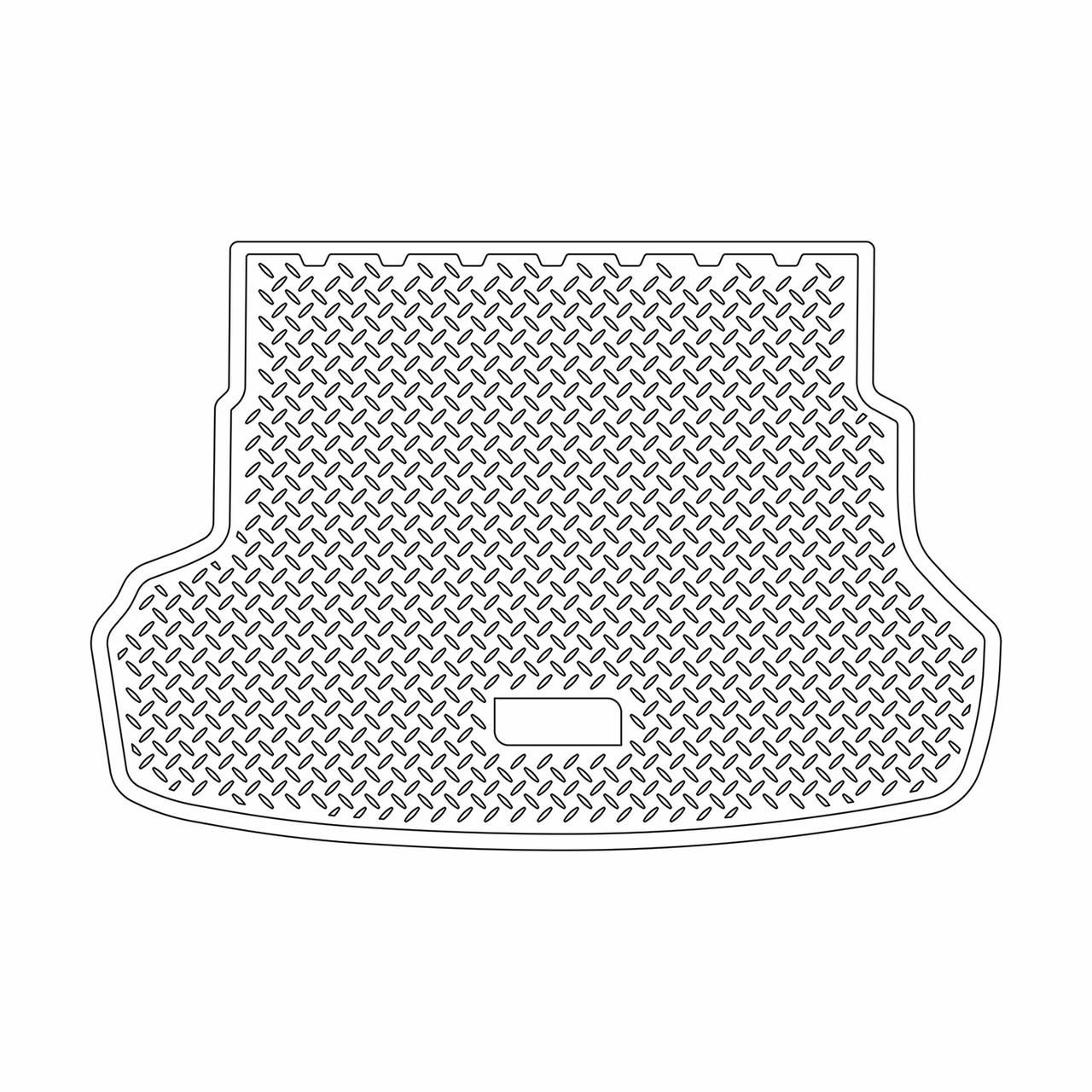 Коврик в багажник Kia Rio седан (2011-2016)
