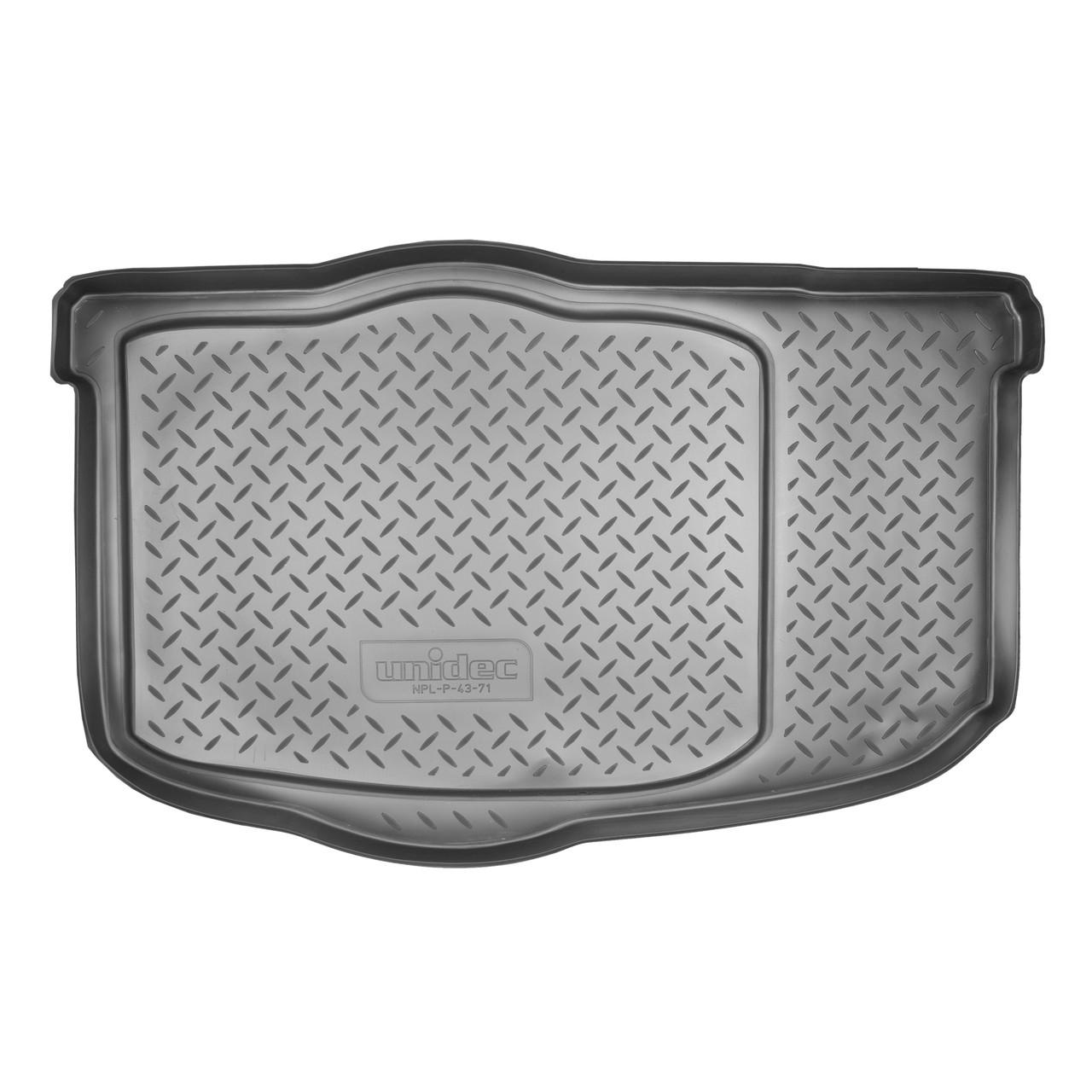 Коврик в багажник Kia Soul (AM) HB (2008-2013) (без органайзера)