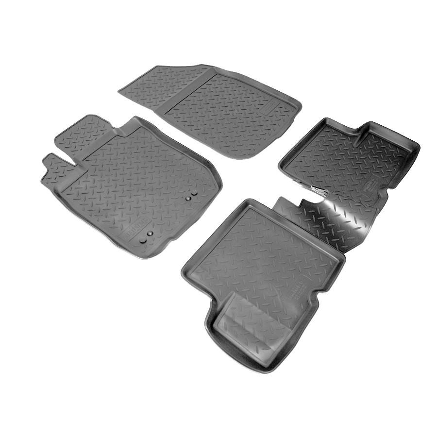Коврики в салон Nissan Terrano 2WD (2014)\ Renault Duster 2WD (2011)