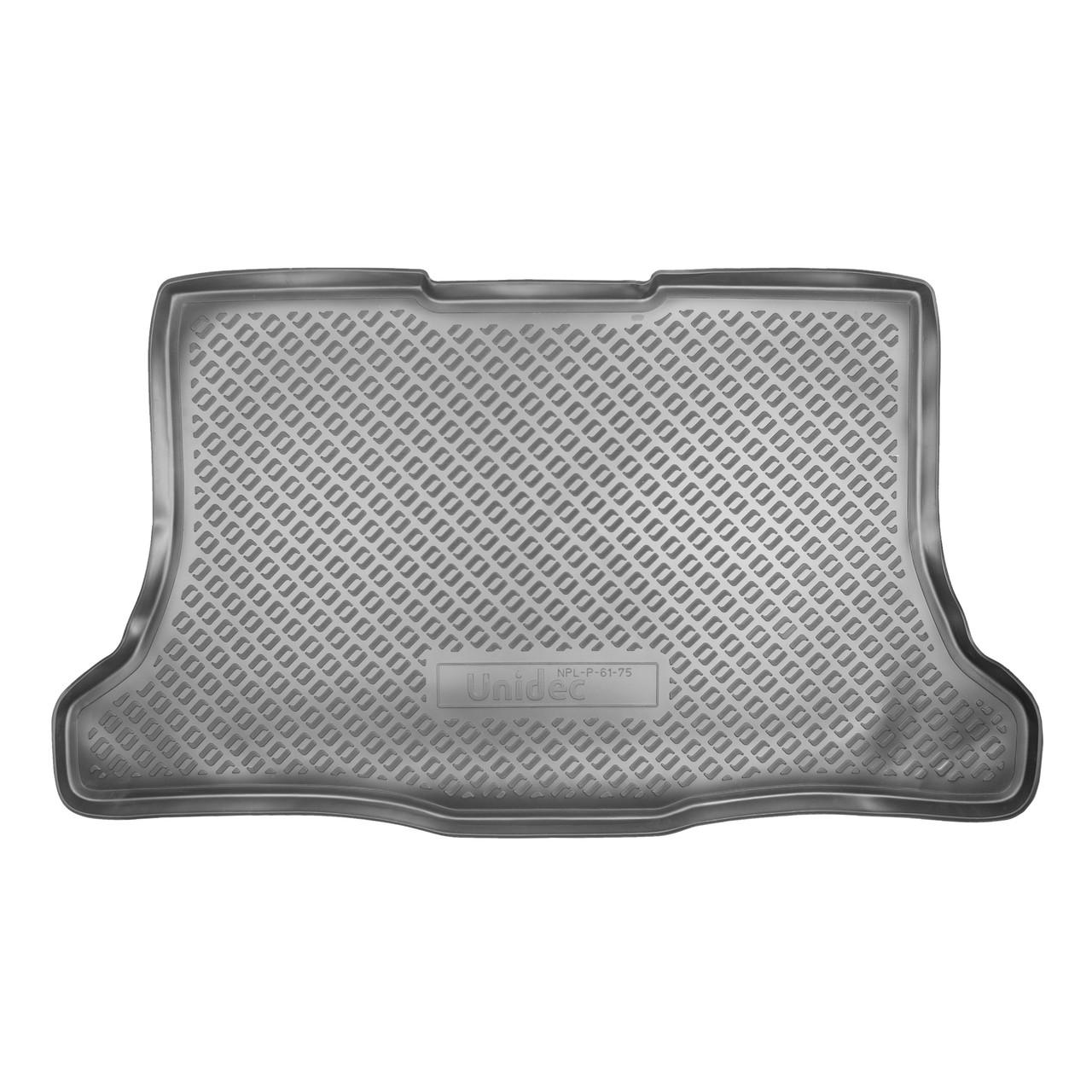 Коврик в багажник Nissan Tiida HB (2007)
