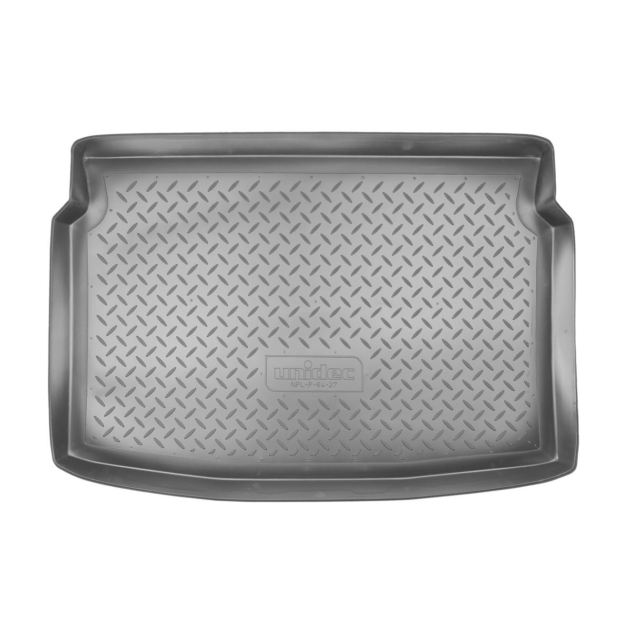 Коврик в багажник Peugeot 207 HB (2006)