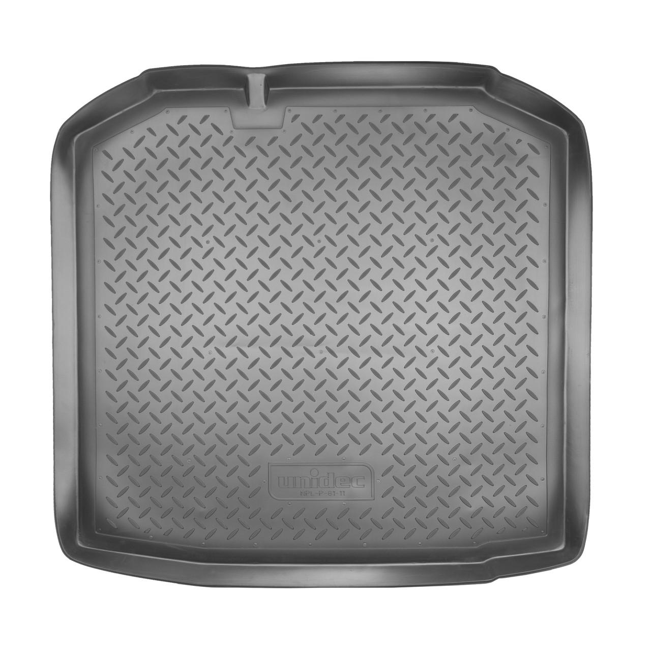 Коврик в багажник Skoda Fabia (5J5) WAG (2007)