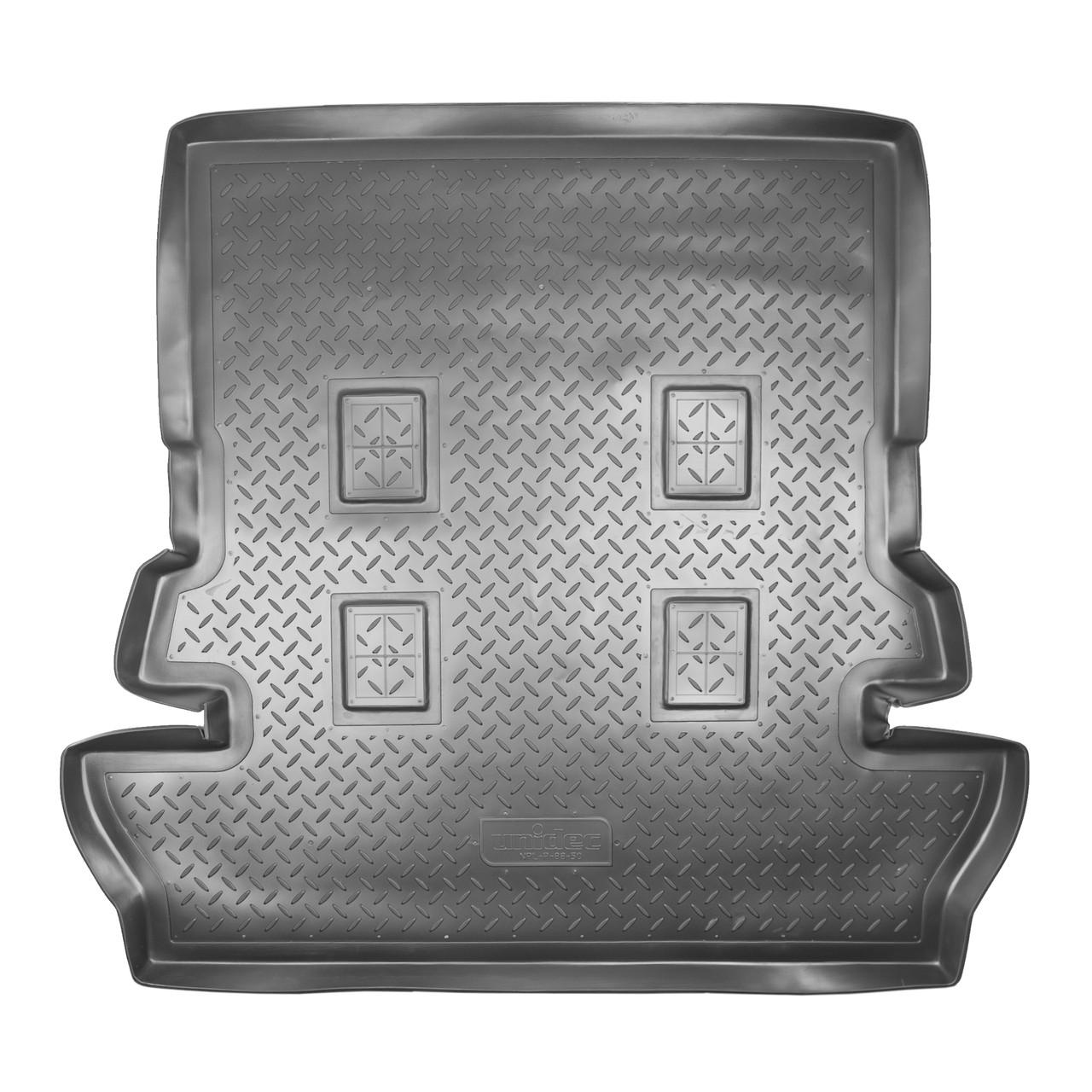 Коврик в багажник Toyota Land Cruiser 200 7 мест (2007-2011)