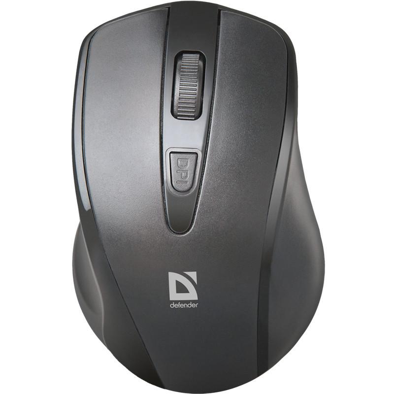 Мышь беспроводная Defender Datum MM-265 черный  3 кнопки 1600 dpi