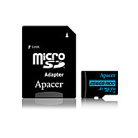 Карта памяти Apacer AP256GMCSX10U7-R MicroSDXC 256GB с адаптером SD