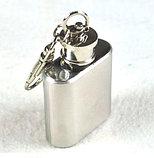 Фляжка брелок 1 OZ (унция) для алкоголя., фото 2