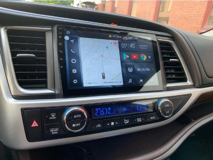 Магнитола Toyota Highlander u40 Teyes Android