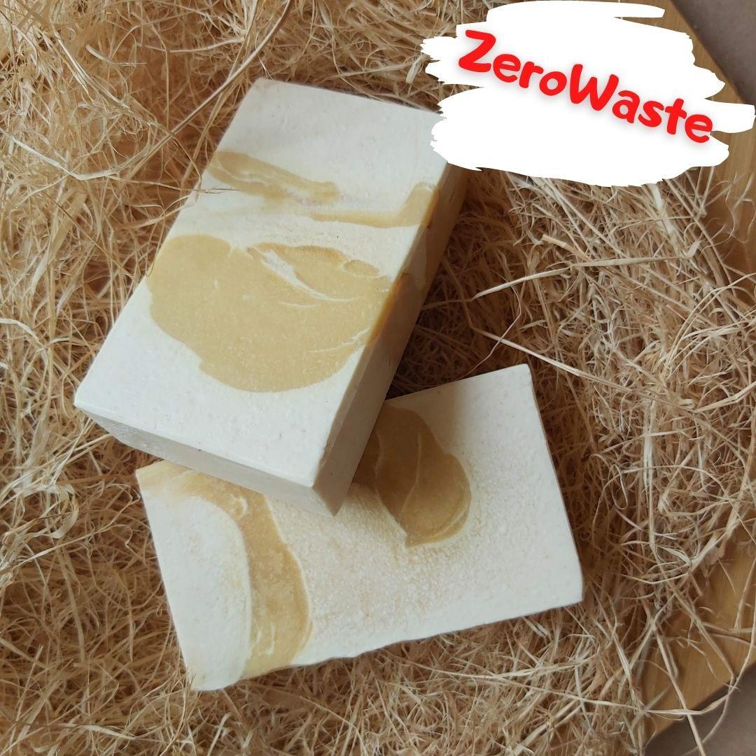 Натуральное мыло с эфирным маслом лемонграсса.