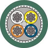 ETHERLINE® MARINE FRNC FC CAT.5 Для подвижного применения, фото 2