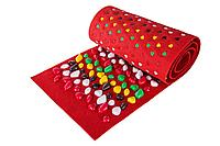 Массажный коврик с камнями, 100 * 40 см, красный