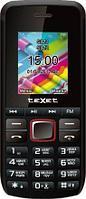 Мобильный телефон Texet TM-203 черно-красный