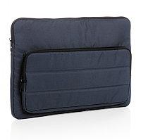 """Чехол для ноутбука Impact из RPET AWARE™, 15.6"""", темно-синий, Длина 39,5 см., ширина 2,5 см., высота 28 см.,"""