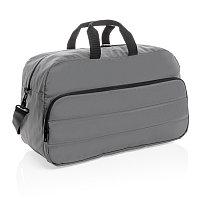 Дорожная сумка Impact из RPET AWARE™, темно-серый, Длина 55 см., ширина 22 см., высота 32 см., P762.022