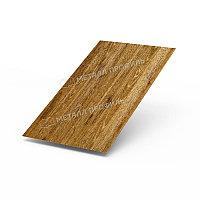 Металл Профиль Лист плоский (ECOSTEEL_T-01-ЗолотойДуб-0.5)