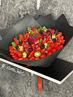 Клубничный букет Бордо М, чёрный