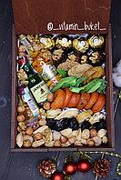 Подарочный набор с индивидуальной надписью и мини-бутылочками