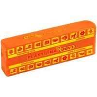 Пластилин 150г JOVI растительный, оранжевый 7104 (комплект из 15 шт.)
