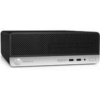 Компьютер HP ProDesk 400 G6 SFF i3 9100 (3.6), 8ГбG 630, DVDRW, 180W, черный