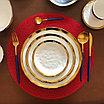 Сервиз керамической посуды «Белое золото» на 4 персоны, фото 2