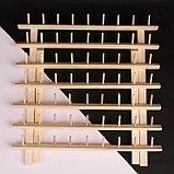 Стойка для ниток на 63 шт, 41 × 38,5 см, фото 3