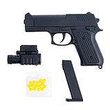 Пистолет пневматический «Агент» с лазером и фонариком, фото 2