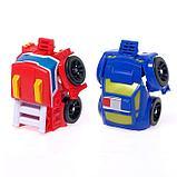 Автотрек «Роботы» с машинками, фото 9