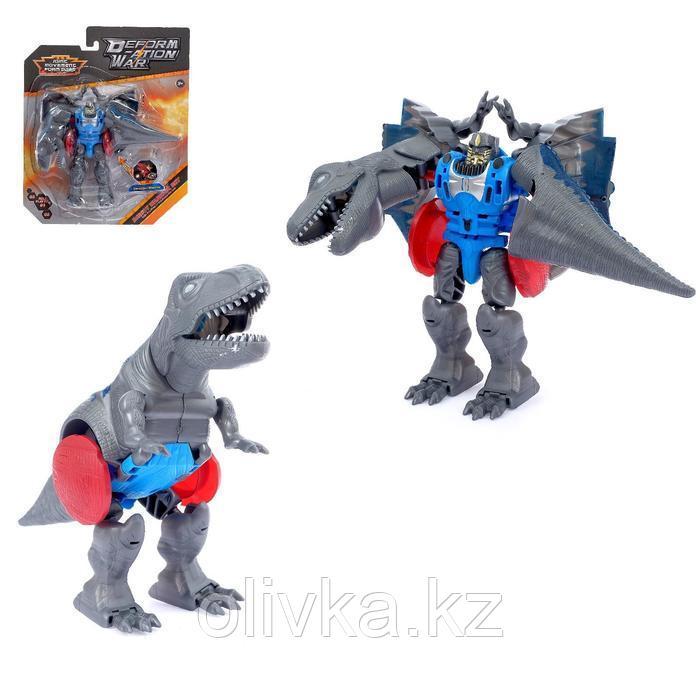 Робот - трансформер «Тиранозавр», цвета МИКС