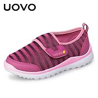 Кроссовки для девочки розовые Uovo, 32