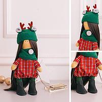 Интерьерная кукла «Шанти» набор для шитья, 15,6 × 22,4 × 5,2 см