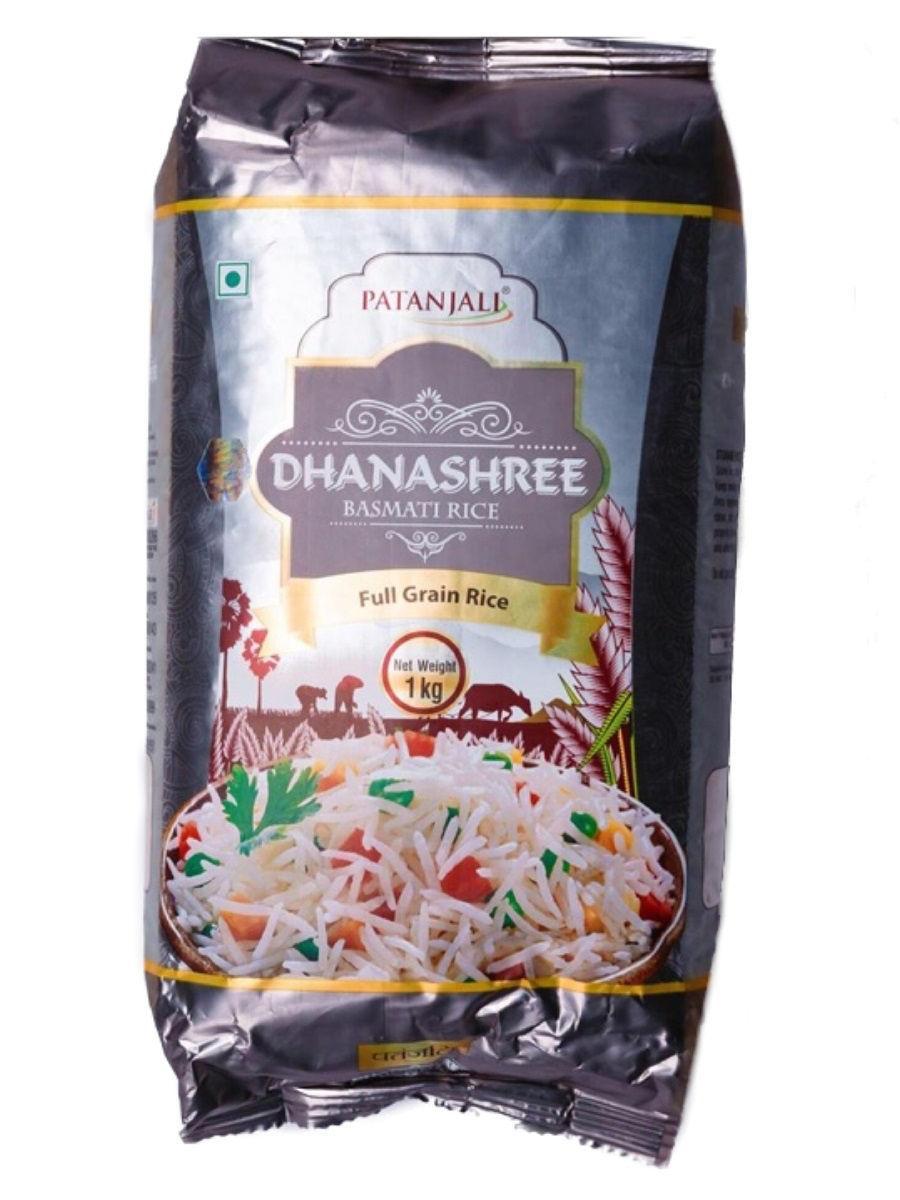 "Индийский рис ""Басмати ДханаШри"", Патанджали, (Patanjali - Dhanshree Basmati), 1 кг."