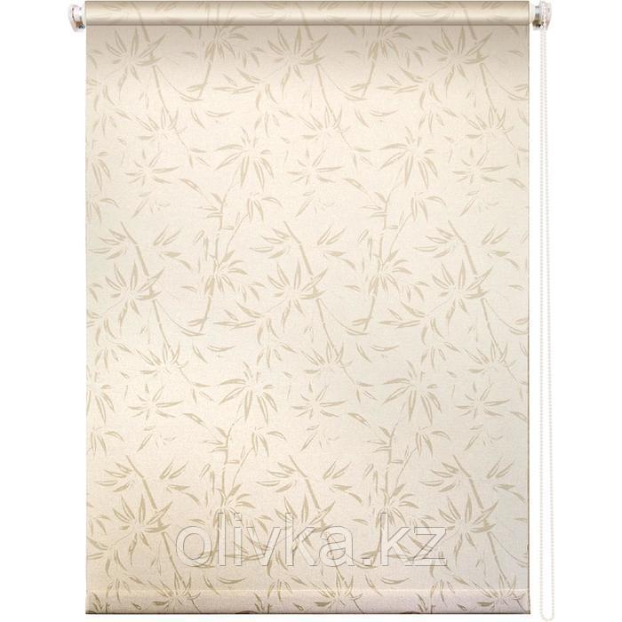 Рулонная штора «Афины», 75 х 175 см, цвет бежевый