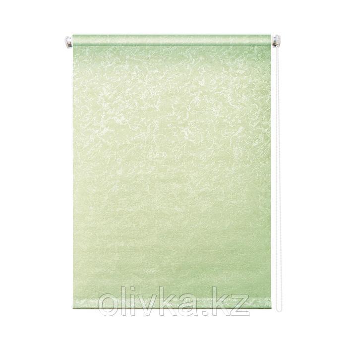 Рулонная штора «Фрост», 200 х 175 см, цвет оливковый