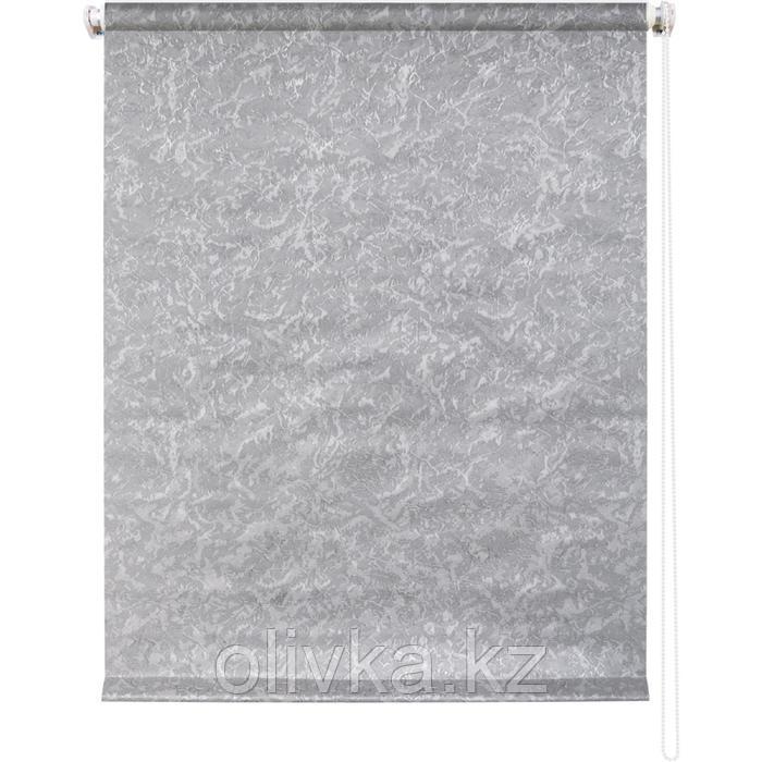 Рулонная штора «Фрост», 200 х 175 см, цвет серый