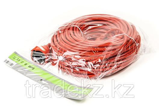 Удлинитель электрический морозостойкий PowerPlant 50 м, 3x1.5 мм2, 10А, фото 2