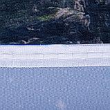 """Фотошторы """"Сказочный Пейзаж"""" 145х260 см 2шт, габардин 160гр/м2, пэ100%, фото 2"""