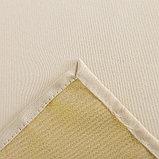 Скатерть Доляна «Пудра» цвет золотой, 150×280 см, 115 ± 10 г/м², 100% п/э, фото 6