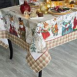 """Скатерть Этель """"Winter holidays""""150х110см +/-3см с ГМВО, хл100%, фото 2"""
