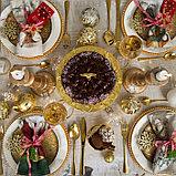 """Скатерть Этель """"Winter holidays""""150х110см +/-3см с ГМВО, хл100%, фото 4"""