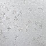 Скатерть Доляна «Звёзды», цвет белый, 110х150 см, полиэстер, 115 ±10 гр/м2, фото 5