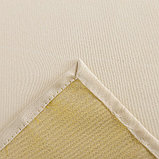Скатерть Доляна «Пудра» цвет золотой, 110×150 см, 115 ± 10 г/м², 100% п/э, фото 6